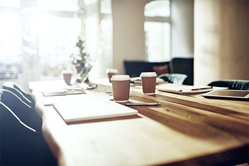 Un descanso para tomar café en la empresa emergente STILORD